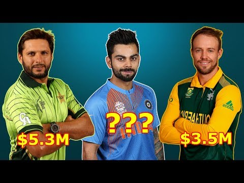 Top 10 Richest Cricket Players In The World 2018