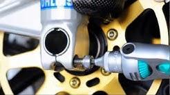 Ducati Monster S4R, install PROTI titanium bolts
