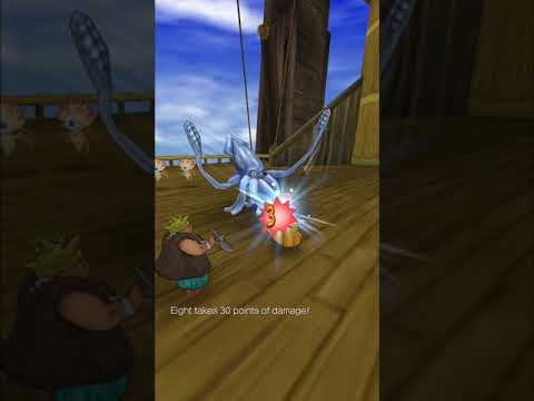 Dragon quest 8 ios how to get to liquid metal slime unnamed island