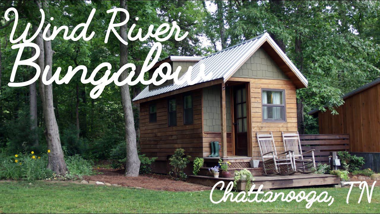 Creative couple making tiny house living practical in for Builders in chattanooga tn