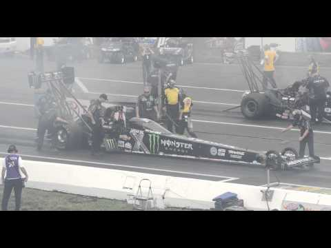 Brittany Force 3.779  321.27mph run at the NHRA Summernationals