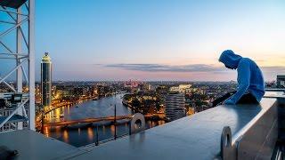 Thameside Crane Climb (120m)