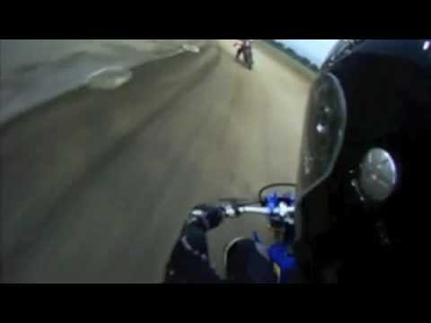 San Jose  Speedway Flat Track practice 11.10.09