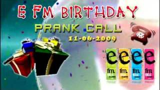 alwin s birthday prank call on e fm