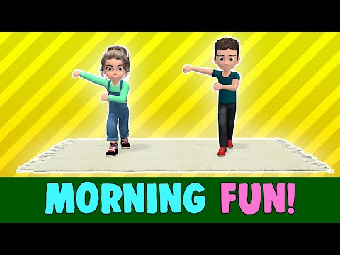 12 Min Kids Exercise: Morning Fun (Let s Get Active!)