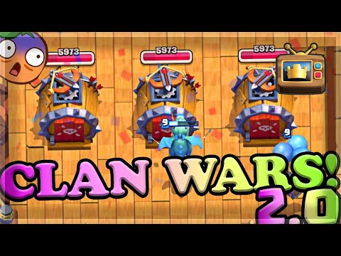 The UPDATE of 2020 has CLAN WARS 2.0 | TV Royale🍊