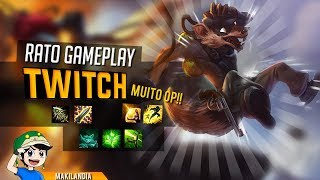 🔴 TWITCH ADC Gameplay Completa - ADC Monstro com Late INCRÍVEL - 💥 Bônus Pentakill 💥- Maki Play