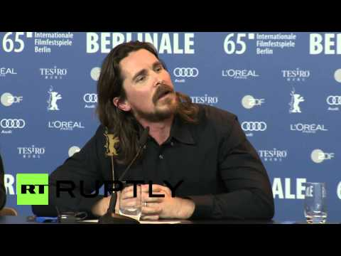 Germany: Watch Christian Bale embarrass journalist at 2015 Berlinale