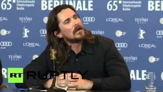 Germany: Watch Christian Bale embarrass journalist at 2015 Berlinale thumbnail