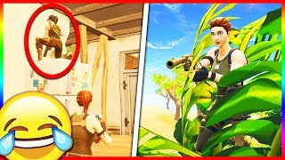 200IQ Hiding Spot... He Was SOOO Mad!! (Fortnite Hide and Seek)