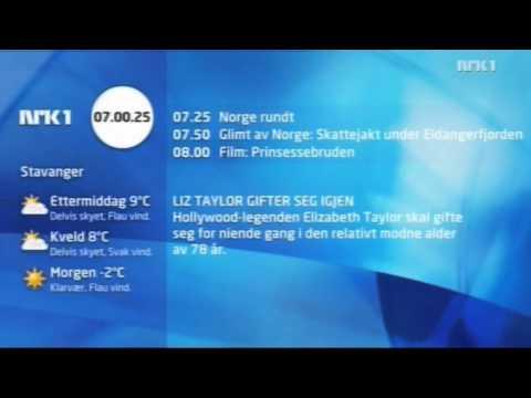 NRK1 opstart 11. april 2010