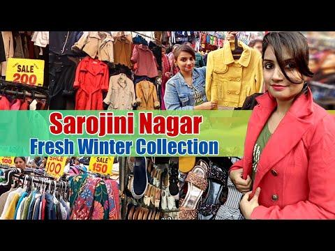 Sarojini Nagar Market Delhi || SarojiniNagar NEW December Winter Collection || Coats,Jackets ||Hindi