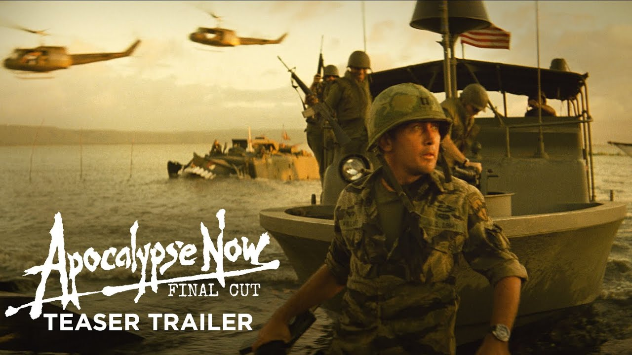 APOCALYPSE NOW FINAL CUT - 4K Restoration in Theaters 8/15 & on 4K Combo Pack 8/27!