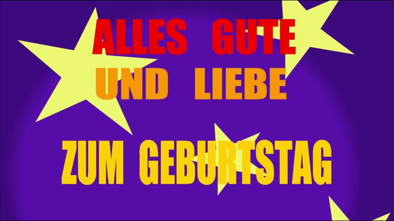 Geburtstagslieder in deutsch schlager