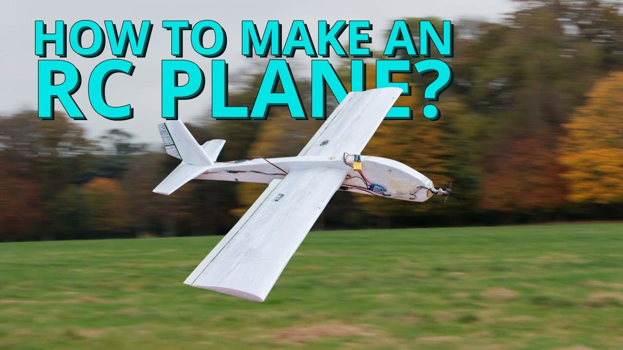 How to make a rc plane step by