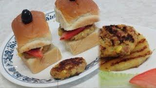 Mini Bean Burgers Video Recipe - Gluten & Nut Free, Vegan