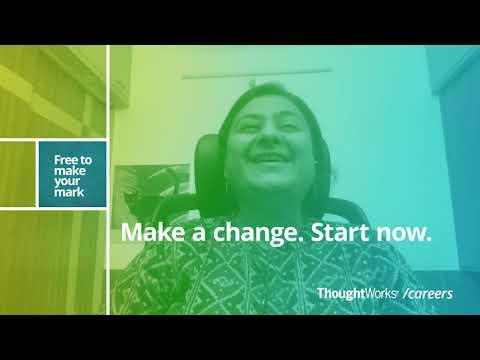 Chhaya Yadav - ThoughtWorker Stories