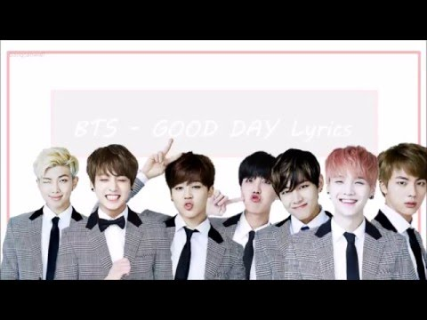 BTS (방탄소년단) - GOOD DAY (Japanese) Lyrics