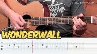 WONDERWALL Melodía Guitar Tutorial TABS | Guitarra Cover | Guitarraviva