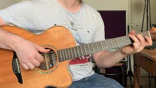 Dermot Kennedy outnumbered guitar cover