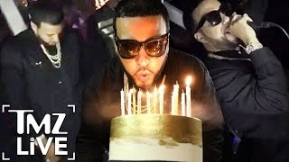 FRENCH MONTANA: Surprise Birthday Party on a Yacht | TMZ Live