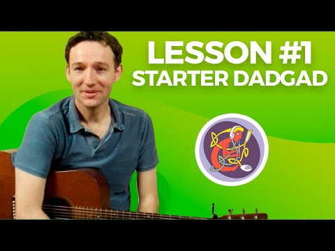 DADGAD Irish Guitar Accompaniment: Lesson 1 with MJ McMahon From OAIM.IE Tutorials