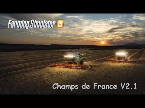 FS 19 - Suite des moisson - Champs de France v2.1 - Saison 2