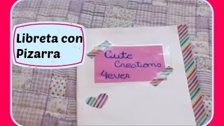 Agenda/Cuaderno Con Pizarra - DIY Thumbnail