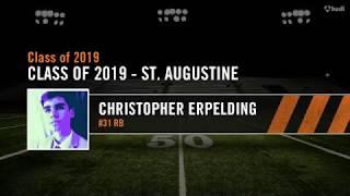 Christopher Erpelding Football Freshman Year