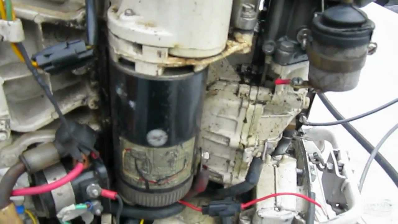 Evinrude 70 Wiring Diagram Stratocaster Hsh Old 60hp Repair - Youtube