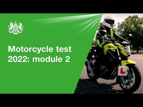Motorcycle Test 2020 - Module 2: Official DVSA Guide