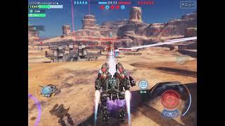 【WarRobots】ジパ2隊 vs Eden inキャリアー【分隊戦】