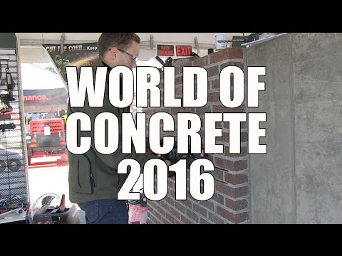 World Of Concrete 2016 - Metabo Tuck Pointing