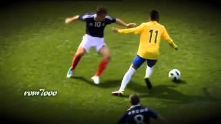 Неймар лучшие финты HD   Neymar the best skills HD (SANTOS)