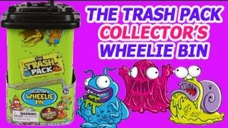 Trash Pack Collector's Wheelie Bin Trashies Storage