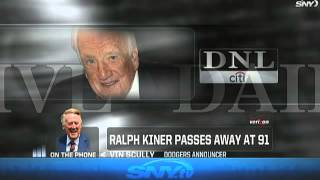 Repeat youtube video Vin Scully remembers Ralph Kiner