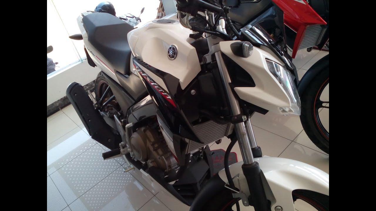 Modifikasi Yamaha Vixion Advance Putih Terbaru Dan Terlengkap