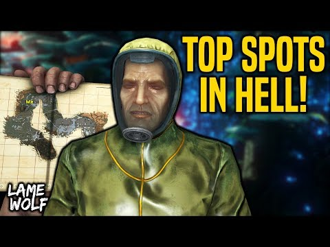 HOMES IN HELL! BEST SPOTS ON ABERRATION! - ARK Cinematic Skits