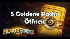 ALLES GOLD !! - Hearthstone 5 Goldene Packs Öffnen | [German / Deutsch] [HD]