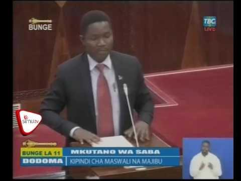 Uboreshaji Miundombinu Wilayani Maswa