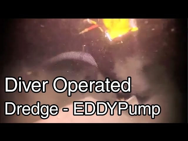 Diver Operated Dredge Pump 4-Inch - EDDY Pump