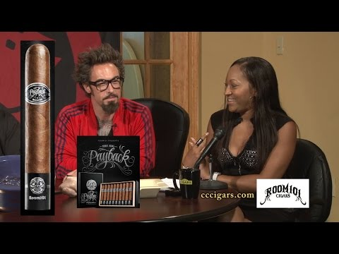 Cigar Time TV Show 42 featuring Matt Booth and his Payback 101 Cigar reviewed