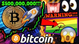 BITCOIN $500 BILLION CAP!!!!! WARNING: BTC $5K GAP!!! DANGER AHEAD?!! [Watch Before Monday]