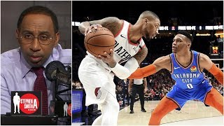 Damian Lillard, Russell Westbrook trending in opposite directions | Stephen A. Smith Show