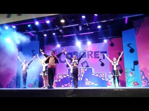 Sahara Beach Hotel Tunisia 2015 Animation show