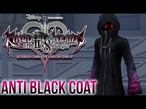 Kingdom Hearts 2.8 - Anti Black Coat Nightmare Boss Fight - Dream Drop Distance HD