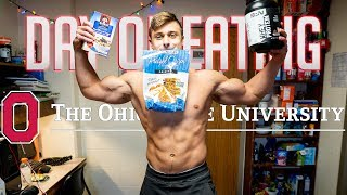 Ohio State Full Day of Eating | BULK W/ INTUITIVE EATING