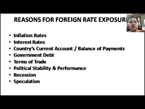 Factors Affecting Foriegn Exchange Rates