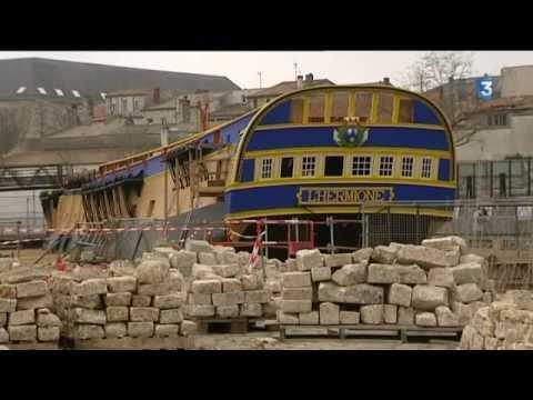 L 39 hermione en images doovi for Rochefort construction