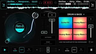 Edjing mix tutorial Skrillex music screenshot 2